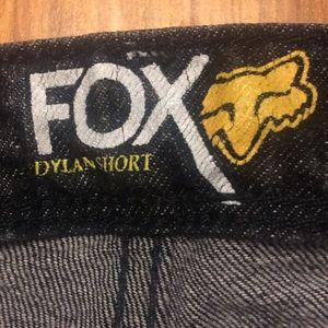 Fox Shorts - FOX size 7 Black Short shorts